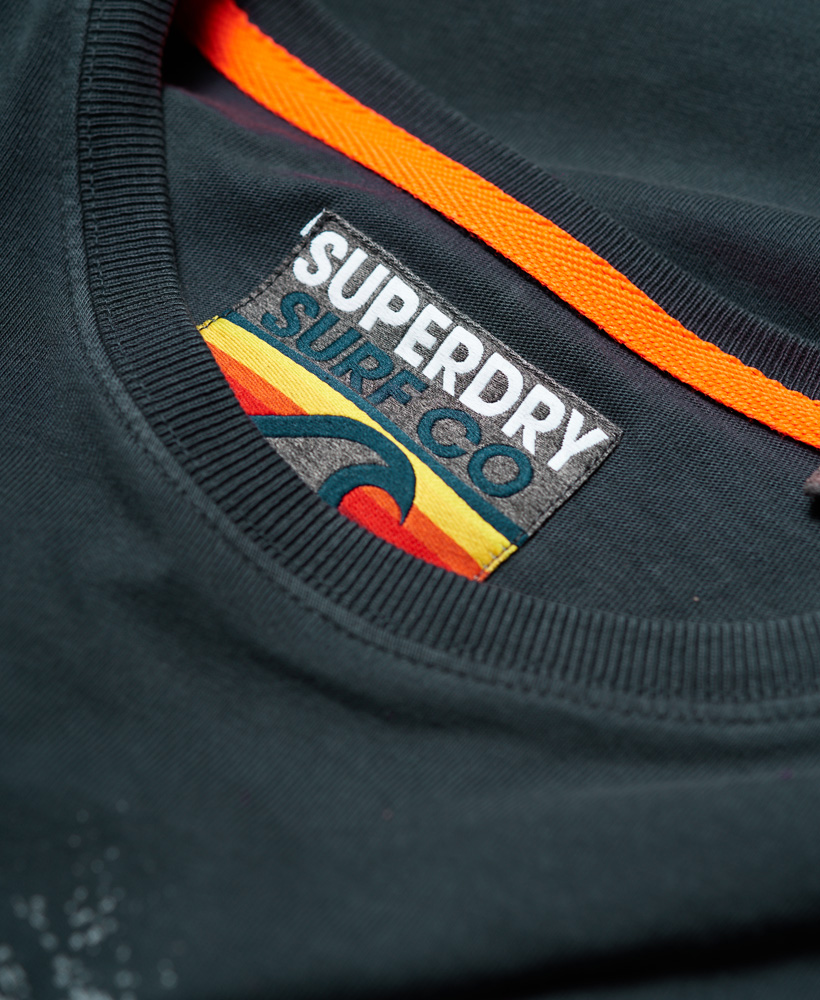 Superdry-Herren-Retro-Surf-T-Shirt miniatura 12