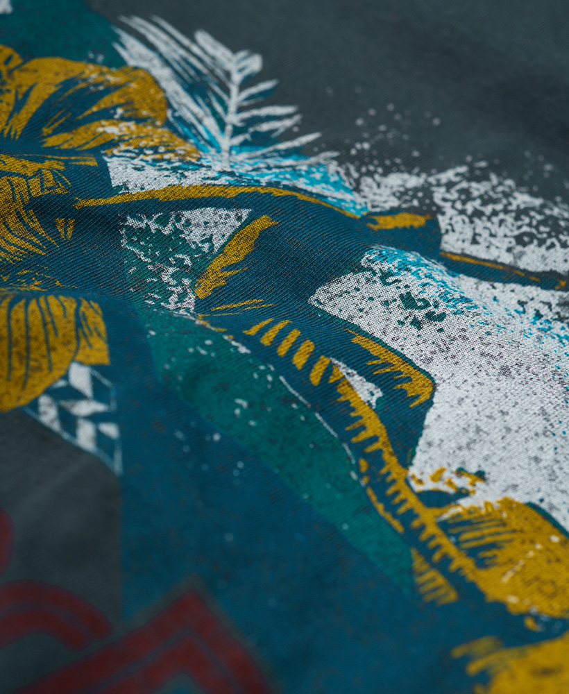 Superdry-Herren-Retro-Surf-T-Shirt miniatura 13