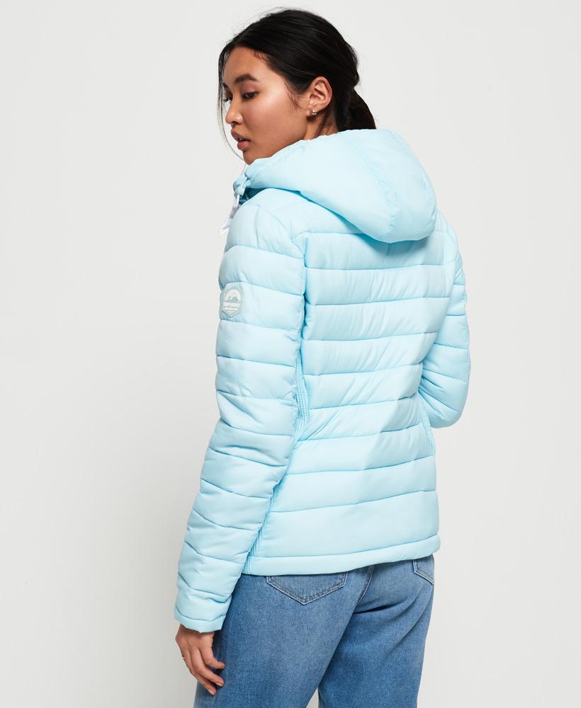 Superdry-Womens-Fuji-Slim-Double-Zip-Hooded-Jacket thumbnail 86