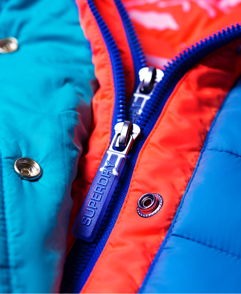 Superdry-Womens-Fuji-Slim-Double-Zip-Hooded-Jacket thumbnail 32
