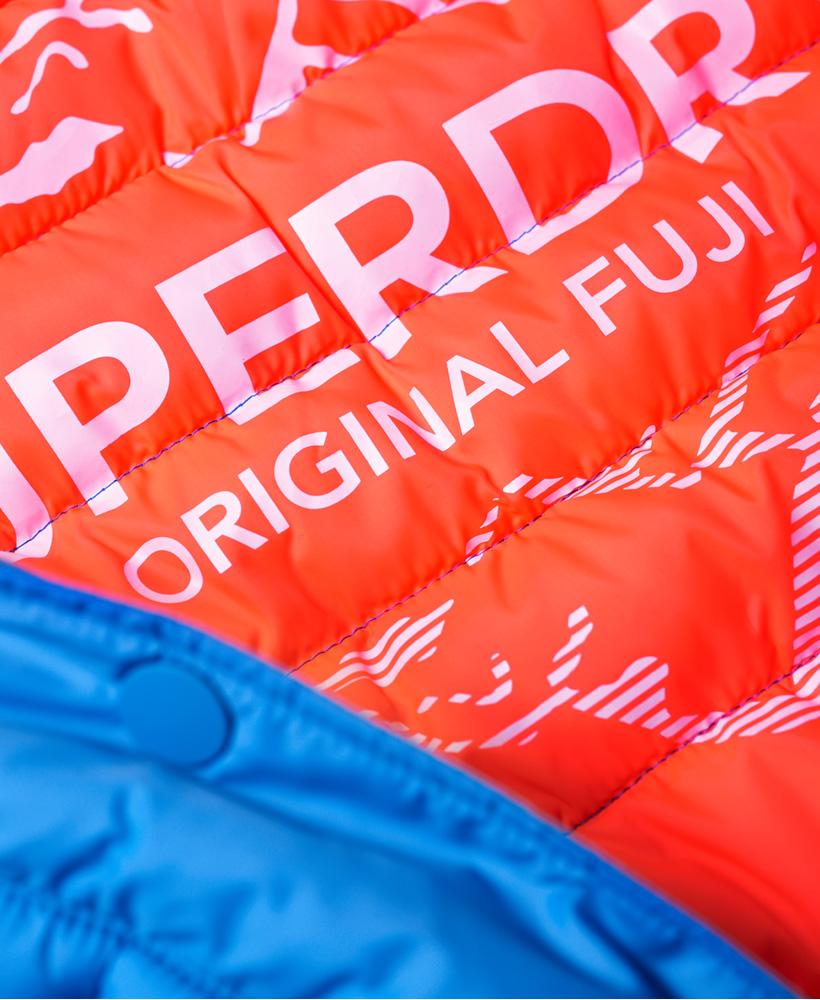 Superdry-Womens-Fuji-Slim-Double-Zip-Hooded-Jacket thumbnail 34