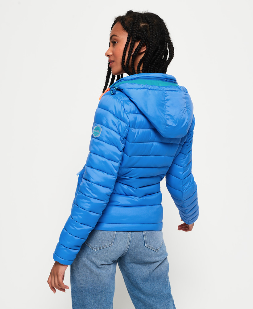Superdry-Womens-Fuji-Slim-Double-Zip-Hooded-Jacket thumbnail 31