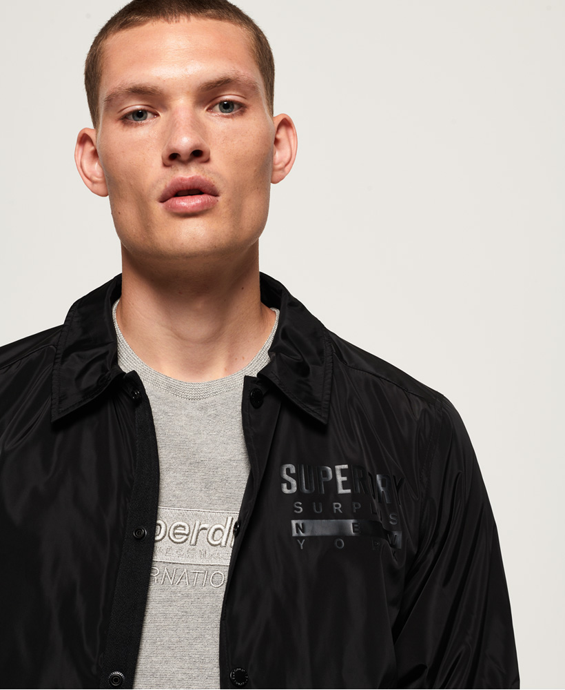 Superdry-Mens-Surplus-Goods-Coach-Jacket thumbnail 13