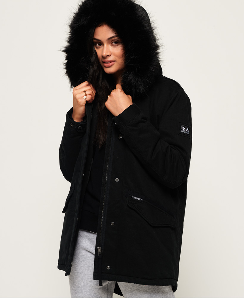 Superdry Womens Falcon Rookie Parka Jacket