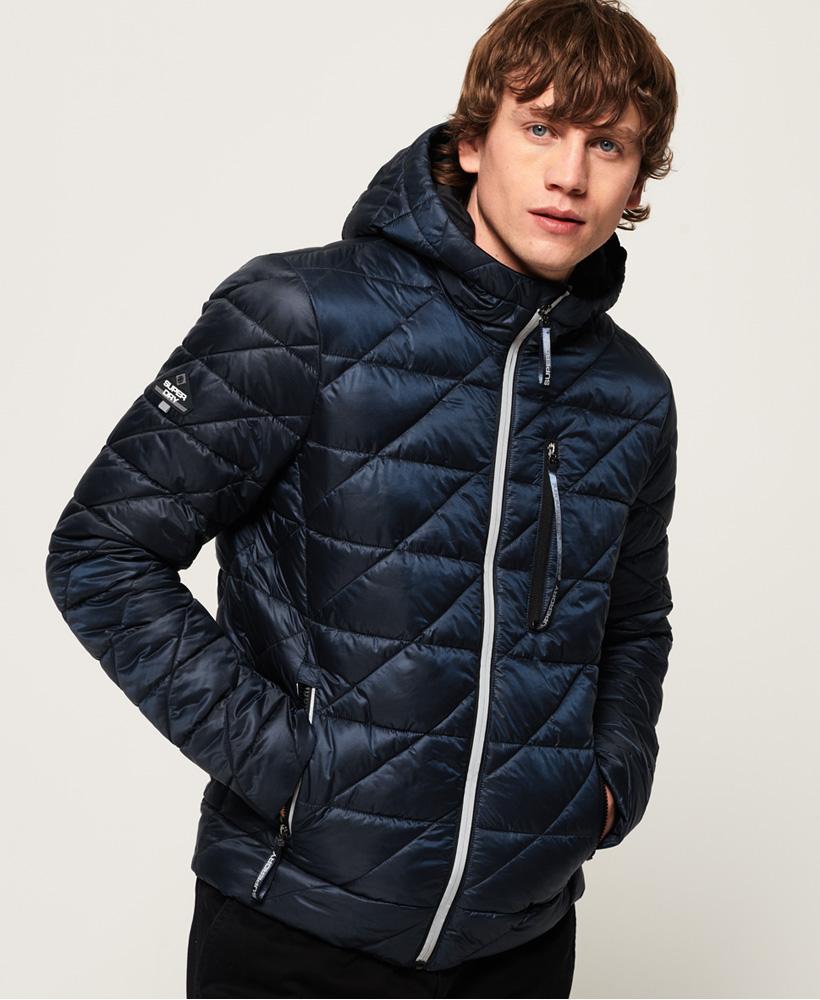Superdry Mens Diagonal Quilt Fuji Jacket