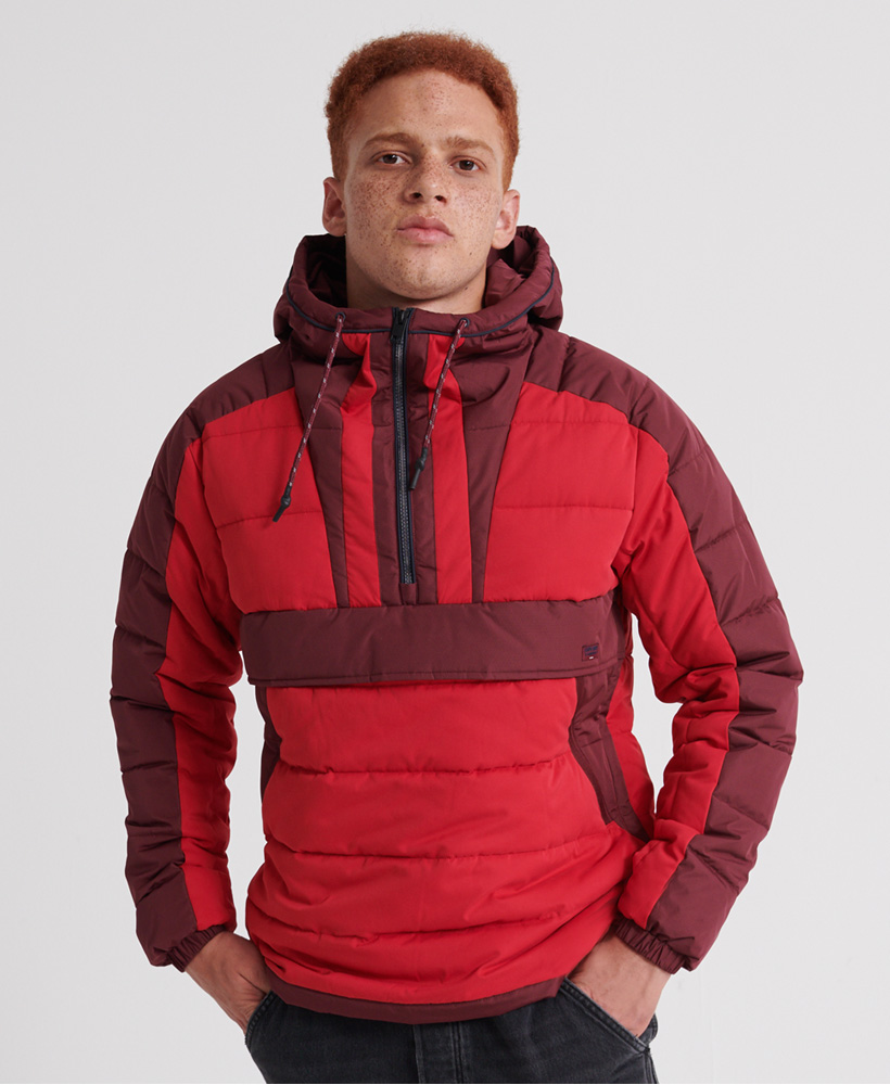 Superdry Mens Downhill Padded Overhead Jacket