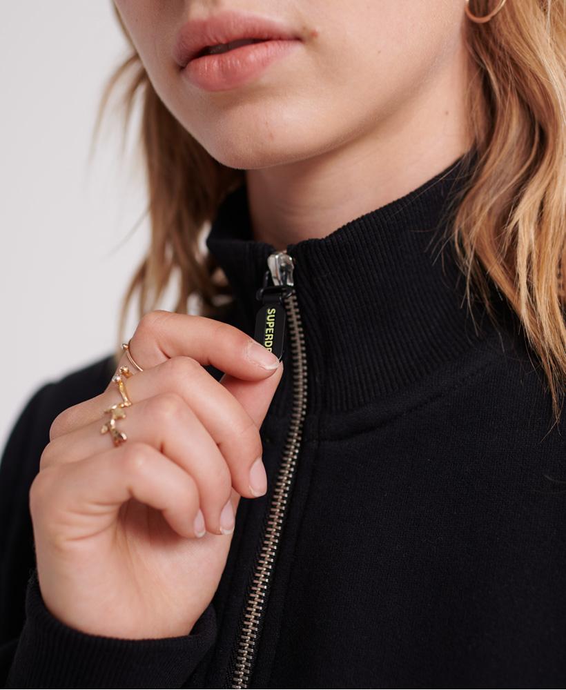 Superdry Womens Nineties Half Zip Sweatshirt