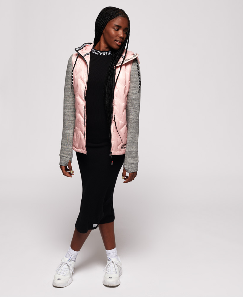 thumbnail 9 - Superdry-Womens-Storm-Injected-Luxe-Hybrid-Jacket