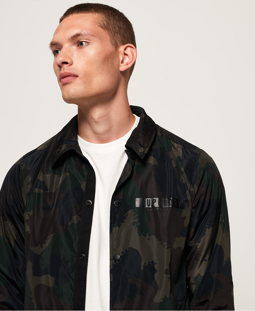 Superdry-Mens-Surplus-Goods-Coach-Jacket thumbnail 4
