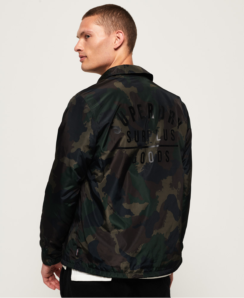 Superdry-Mens-Surplus-Goods-Coach-Jacket thumbnail 5