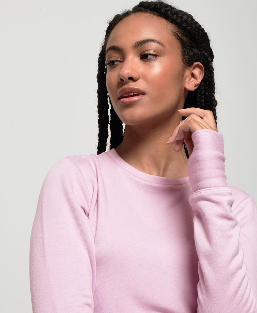 Superdry-Damen-Active-Studio-Luxe-Rundhals-Sweatshirt Indexbild 15