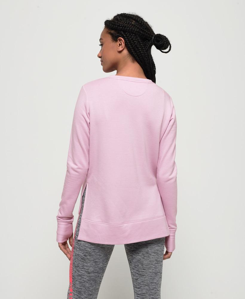 Superdry-Damen-Active-Studio-Luxe-Rundhals-Sweatshirt Indexbild 14