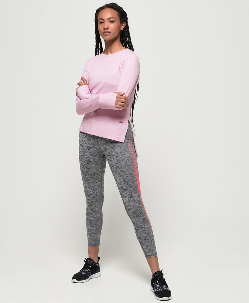 Superdry-Damen-Active-Studio-Luxe-Rundhals-Sweatshirt Indexbild 13
