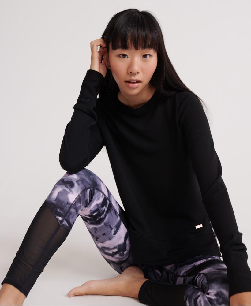 Superdry-Damen-Active-Studio-Luxe-Rundhals-Sweatshirt Indexbild 22