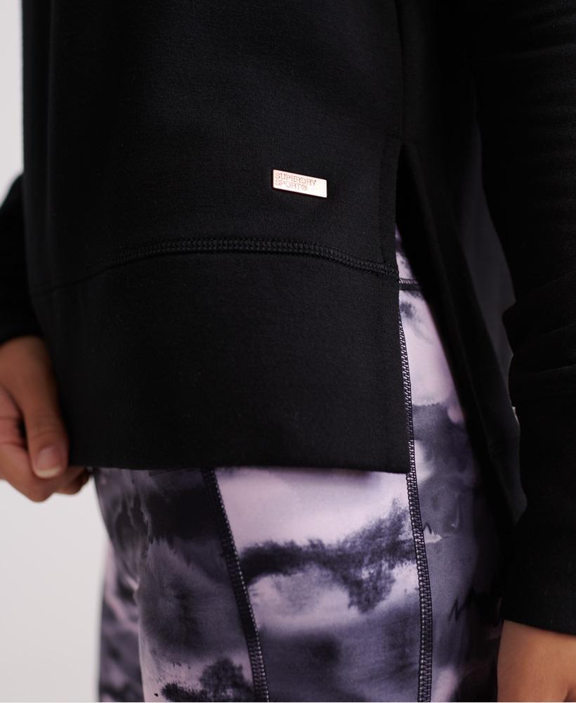 Superdry-Damen-Active-Studio-Luxe-Rundhals-Sweatshirt Indexbild 23