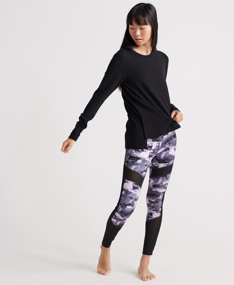 Superdry-Damen-Active-Studio-Luxe-Rundhals-Sweatshirt Indexbild 19