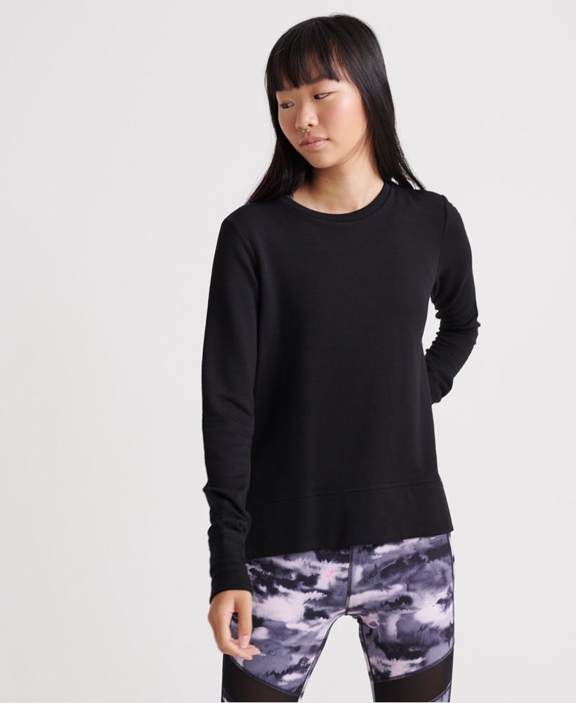 Superdry-Damen-Active-Studio-Luxe-Rundhals-Sweatshirt Indexbild 21