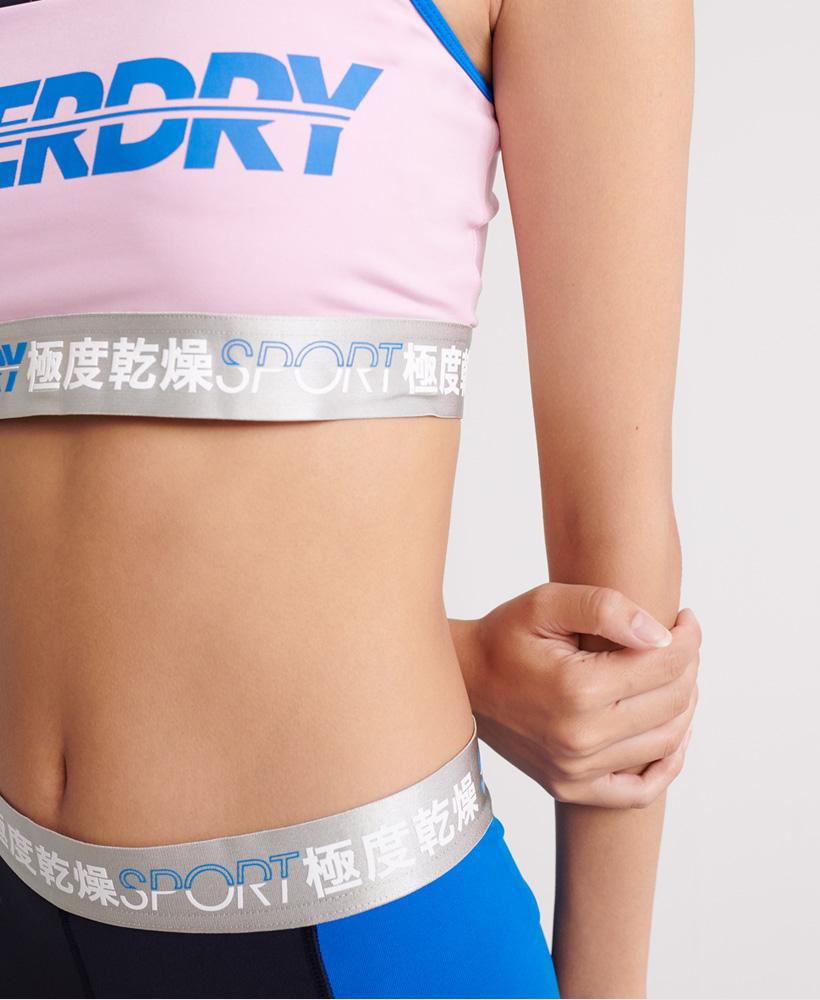 Superdry Damen Sprint Sport-Trainings-Bh