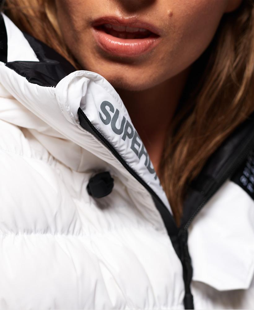 Superdry Damen Sd Stealth Ski-Bomberjacke Mit Daunen