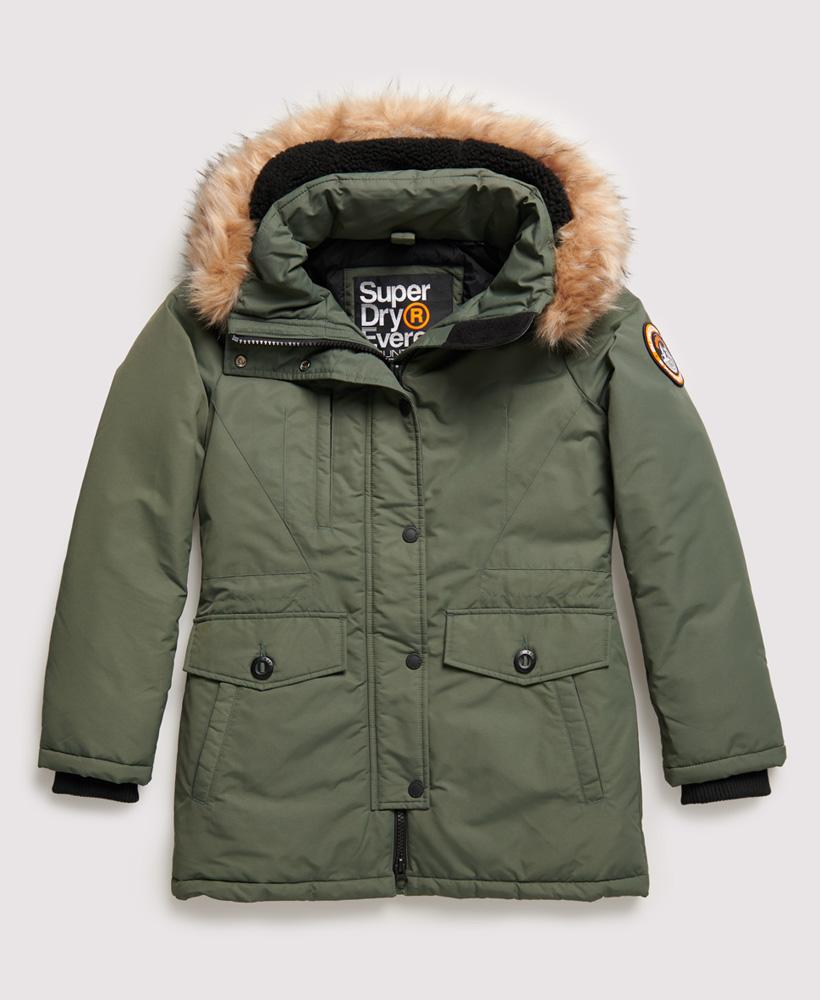 Superdry Womens Ashley Everest Parka Jacket   eBay
