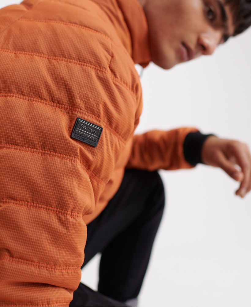 Superdry-Mens-Commuter-Quilted-Bomber-Jacket thumbnail 15