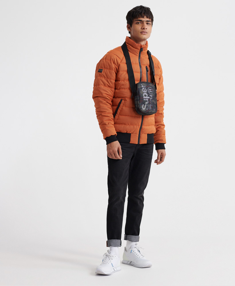 Superdry-Mens-Commuter-Quilted-Bomber-Jacket thumbnail 12