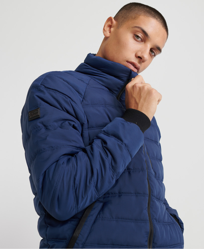 Superdry-Mens-Commuter-Quilted-Bomber-Jacket thumbnail 9