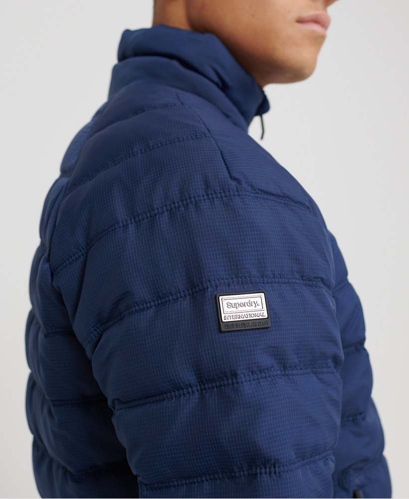 Superdry-Mens-Commuter-Quilted-Bomber-Jacket thumbnail 10
