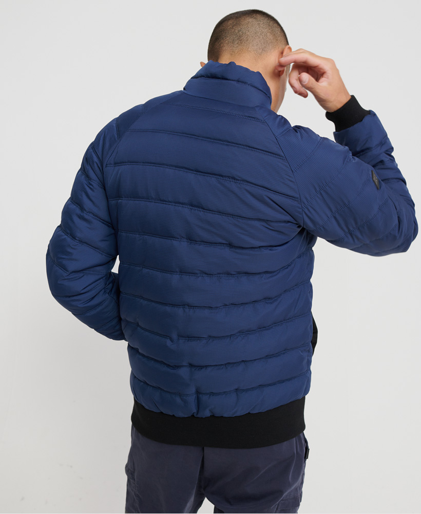 Superdry-Mens-Commuter-Quilted-Bomber-Jacket thumbnail 8
