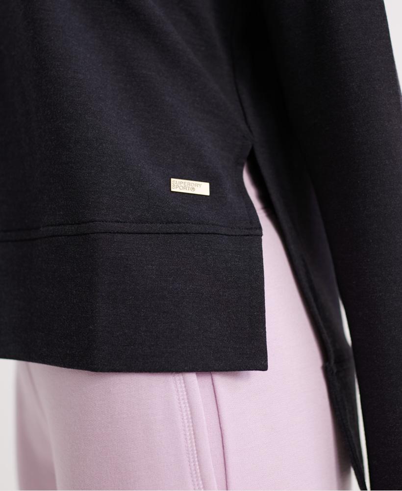 Superdry-Damen-Active-Studio-Luxe-Rundhals-Sweatshirt Indexbild 28