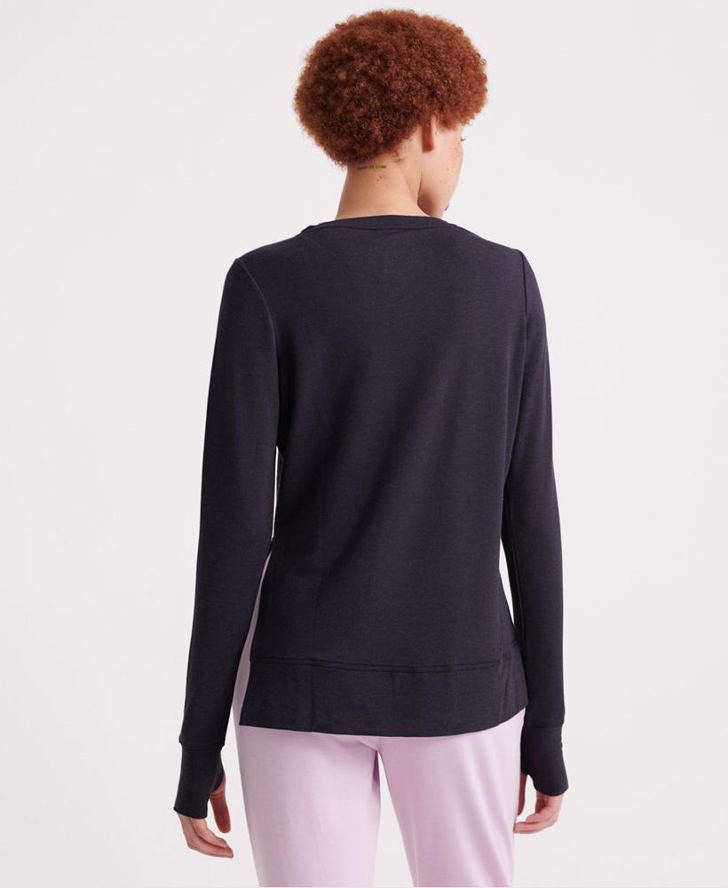Superdry-Damen-Active-Studio-Luxe-Rundhals-Sweatshirt Indexbild 26
