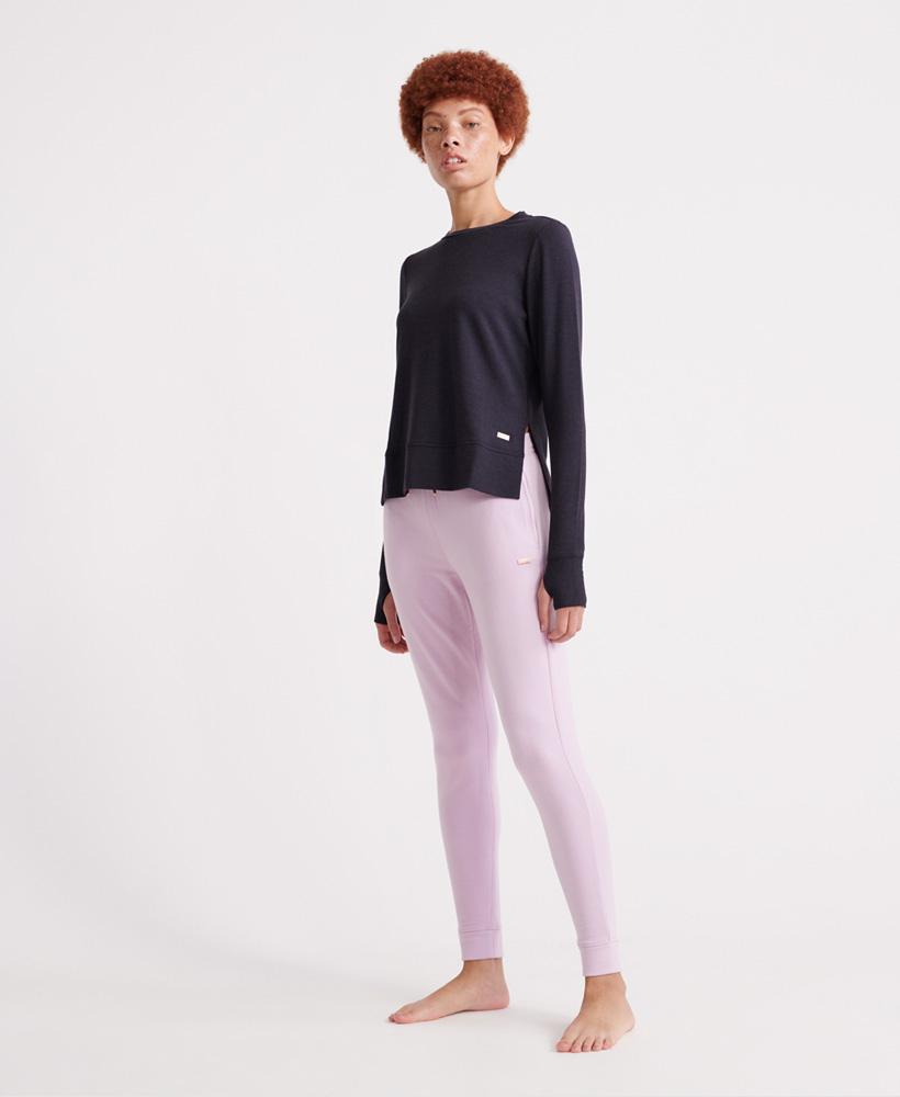 Superdry-Damen-Active-Studio-Luxe-Rundhals-Sweatshirt Indexbild 25