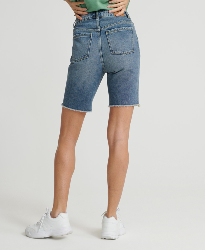 Superdry-Damen-Bermuda-Boy-Shorts Indexbild 11