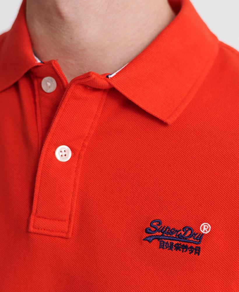 thumbnail 8 - Superdry Mens Organic Cotton Classic Pique Polo Shirt