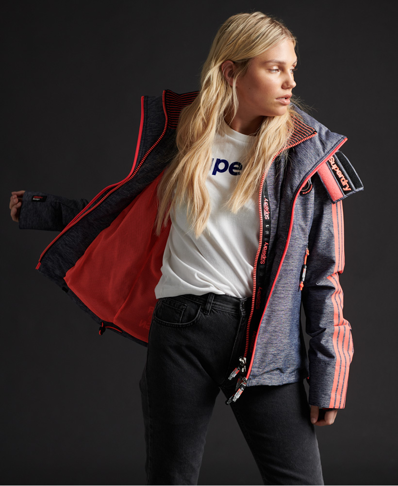 Superdry Womens Limited Edition Blockhood SdWindcheater Jacket