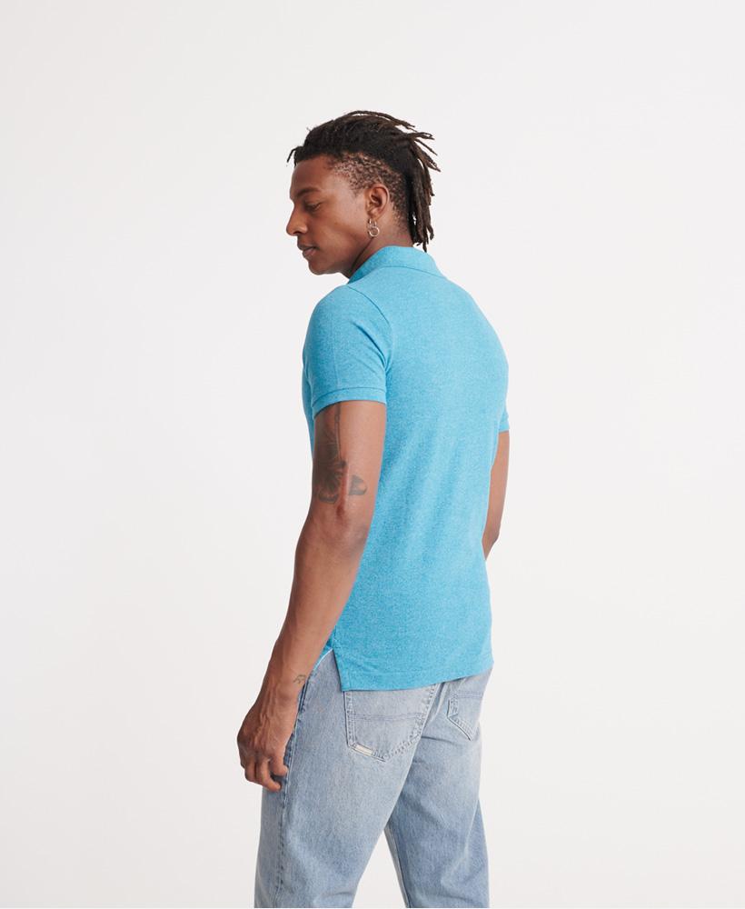 thumbnail 19 - Superdry Mens Organic Cotton Classic Pique Polo Shirt