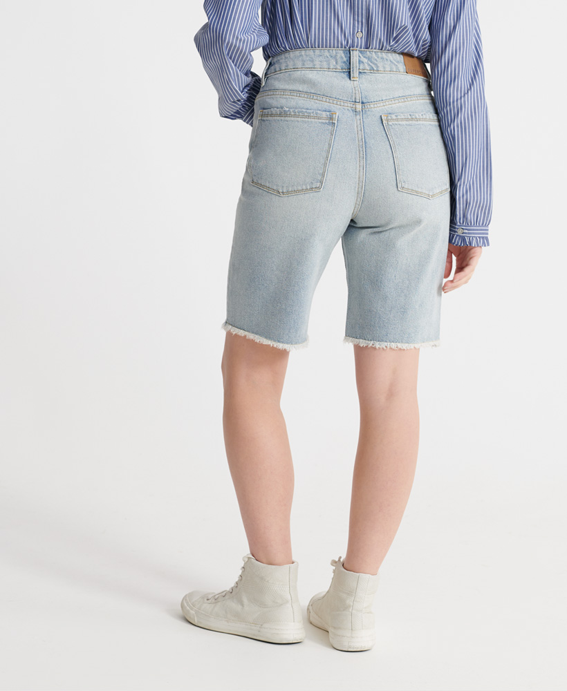 Superdry-Damen-Bermuda-Boy-Shorts Indexbild 7