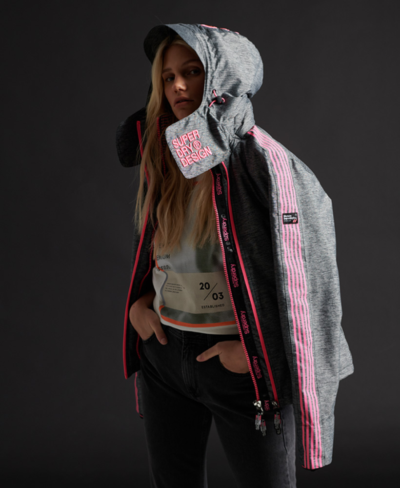 Superdry Womens Limited Edition Hit Hood SdWindcheater Jacket
