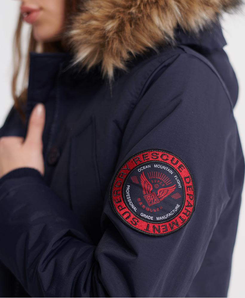 Superdry-Womens-Everest-Parka-Jacket thumbnail 12