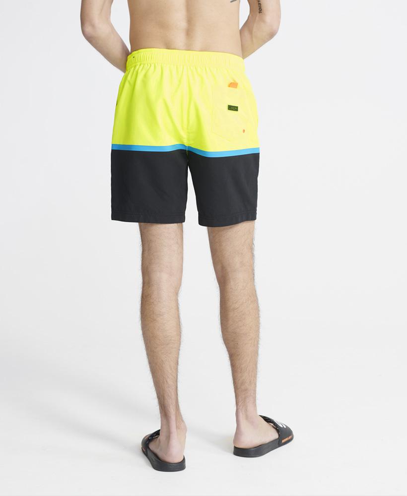 Superdry Herren Boardshort COLOUR BLOCK SWIM