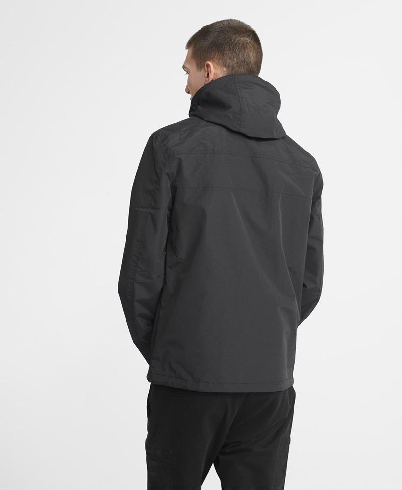 thumbnail 5 - Superdry Mens Tech Hood Pop Zip Sd-Windcheater Jacket