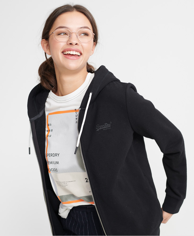 Superdry-Damen-Elite-Loopback-Kapuzenjacke-Aus-Der-Orange-Label-Kollektion Indexbild 28