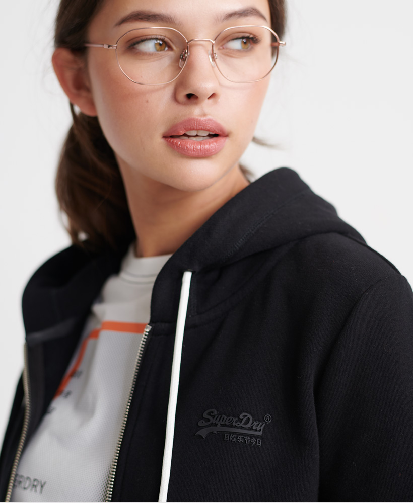 Superdry-Damen-Elite-Loopback-Kapuzenjacke-Aus-Der-Orange-Label-Kollektion Indexbild 29