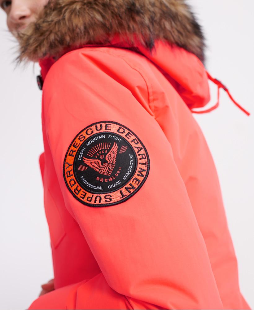 Superdry-Womens-Everest-Parka-Jacket thumbnail 8