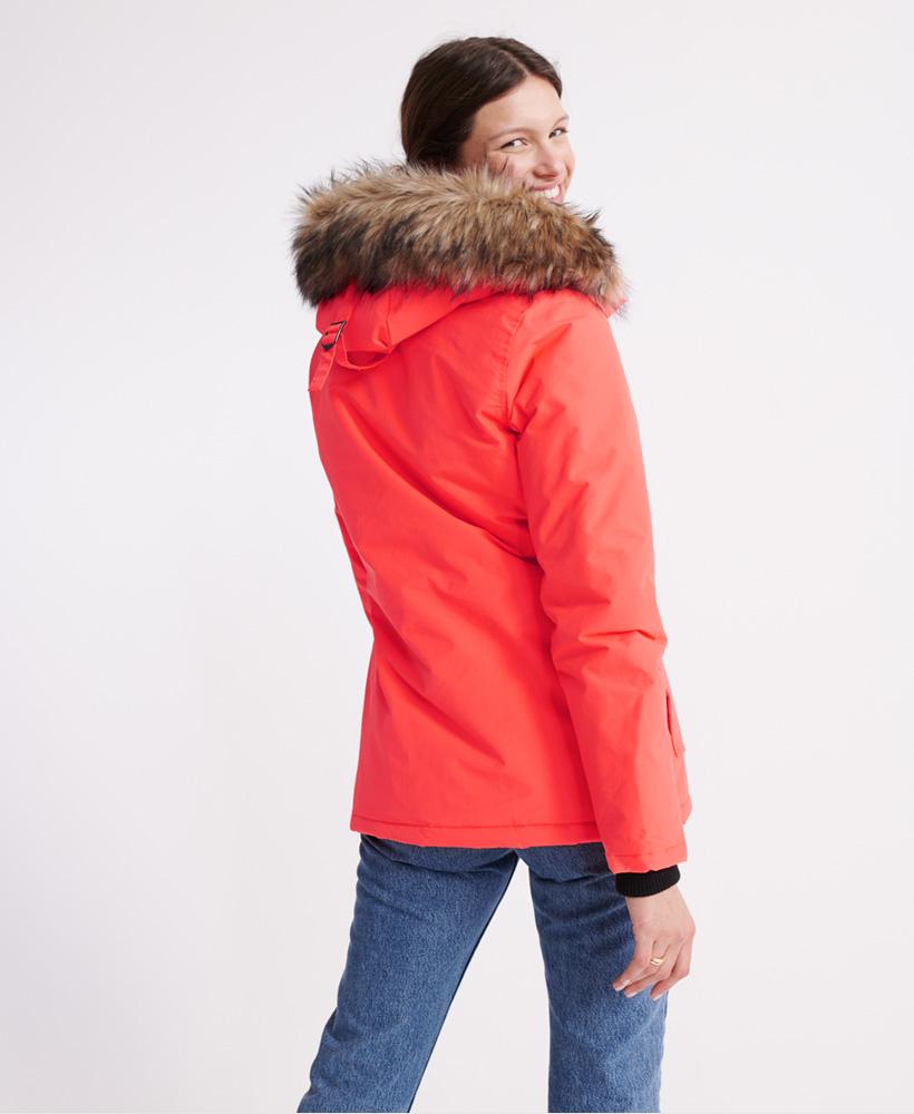 Superdry-Womens-Everest-Parka-Jacket thumbnail 6