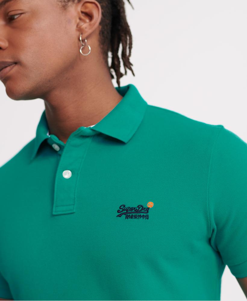 thumbnail 29 - Superdry Mens Organic Cotton Classic Pique Polo Shirt