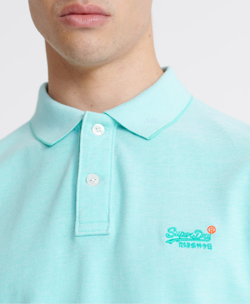 thumbnail 42 - Superdry Mens Organic Cotton Classic Pique Polo Shirt