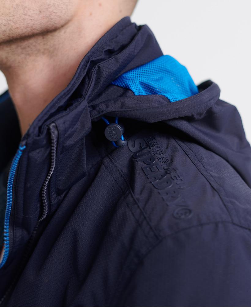 thumbnail 10 - Superdry Mens Tech Hood Pop Zip Sd-Windcheater Jacket