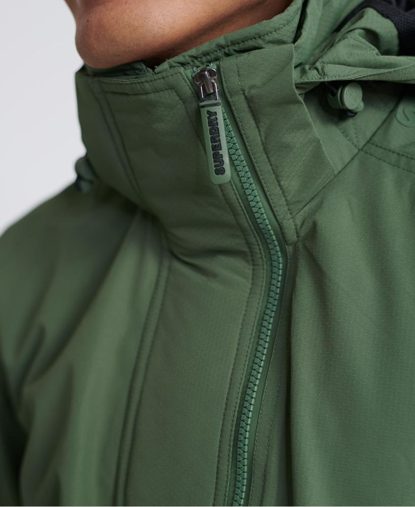 thumbnail 19 - Superdry Mens Tech Hood Pop Zip Sd-Windcheater Jacket