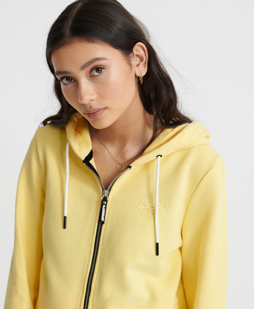 Superdry-Damen-Elite-Loopback-Kapuzenjacke-Aus-Der-Orange-Label-Kollektion Indexbild 7